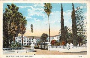 Saint Ann's Inn - Santa Ana, CA