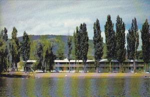 Exterior,  The Safari Beach Motel,  Osoyoos,  B.C.,  Canada,   40-60s