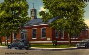 Blackstone, Virginia - The Post Office - in the 1940s