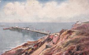 TUCK : Mumbles Pier , UK, 1904