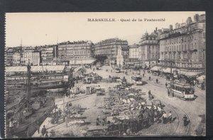France Postcard - Marseille - Quai De La Fraternite  HP39