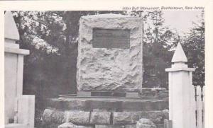 John Bull Monument, Bordentown, New Jersey, 1920-1940s