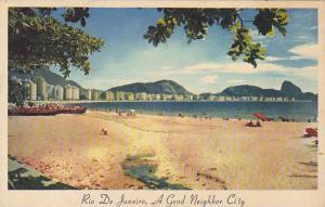 Copacabana Beach, Rio De Janeiro, Brazil, 30-40s
