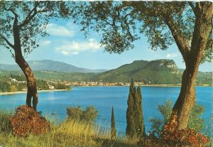 Italy, Lago di Garda, Panorama, used Postcard