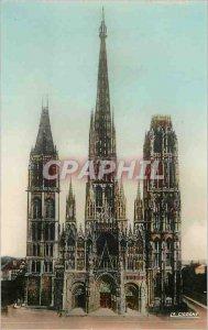 Modern Postcard Rouen (Seine Maritime) The Cathedral