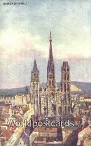 Rouen, France, Carte, Postcard La Cathedrale  La Cathedrale