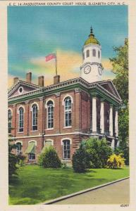 Pasquotank County Court House, Elizabeth City, North Carolina, 30-40s