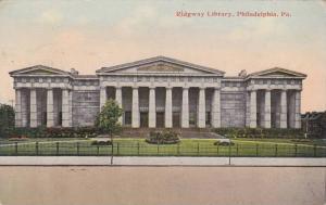 Exterior, Ridgway Library, Philadelphia, Pennsylvania,  PU_00-10s