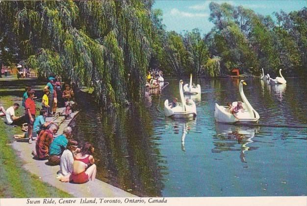 Canada Toronto Swan Ride Centre Island