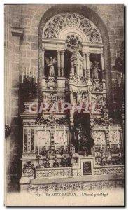 Old Postcard Sainte Anne D & # 39Auray L & # 39Autel privileged