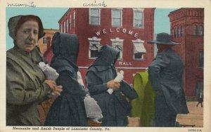 PENNSYLVANIA, 1930-40s ; Mennonite & Amish People of Lancaster County