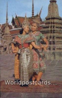 Thai Classical Dance Thailand Unused