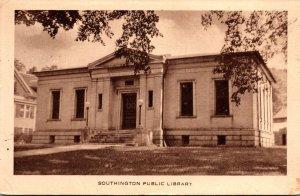 Connecticut Southington Public Library 1935