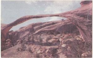Landscape Arch, Arches National Monument, Utah, unused Postcard