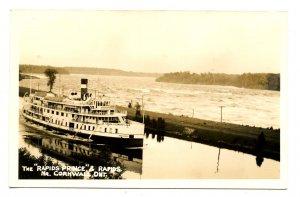 Canada - ON, Cornwall. Canada Steamship Lines - Rapids Prince  *RPPC