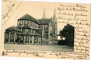 VIETNAM INDOCHINE - Cathédrale de Saigon (190195)