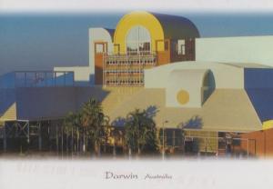 Darwin Australia Entertainment Centre Postcard