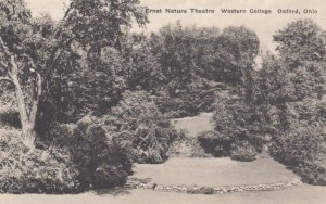 OXFORD, Ohio, 1900-10s; Ernst Nature Theatre, Western College