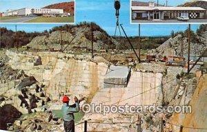 Rock of Ages Granite Quarry Barre, VT, USA Unused
