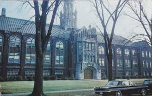 Exterior,  Dillon Hall,  University of WIndsor, Windsor, Ontario,  Canada,  P...
