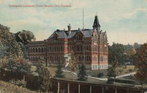 OWEN SOUND , Ontario , Canada , 1900-10s ; Collegiate Institute