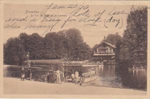 Brussels , Belgium , PU-1910 ; Le Lac du Bois de la Cambre