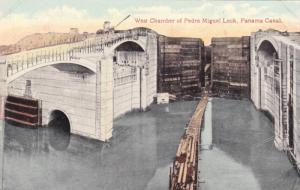 West Chamber of Pedro Miguel Lock,Panama Canal,00-10s