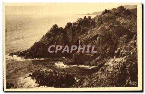 Old Postcard La Corniche D Or Les Rochers du Trayas