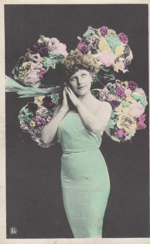 RP: Female Portrait , 1900-10s : #2