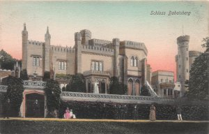 Schloss Babelsberg, Germany, Early Hand Colored. Postcard, Unused