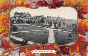 Canada New Brunswick Saint John Queen Square 1908