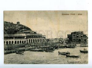 147258 Yemen ADEN Steamer Point Vintage postcard