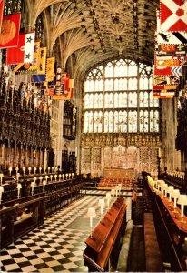 England Windsor St George's Chapel 1981