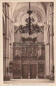 Spain Toledo Catedral Puerta de los Leones interior