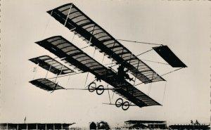Aviation 1910 A Nice, Effimoff sur Farman Airplane RPPC 07.30