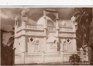 RP: Mohammedan Temple , SAN FERNANDO , Trinidad , B.W.I. , 1930s