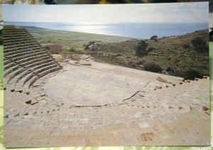 Cyprus Kourion Ancient Theatre Limassol - unposted