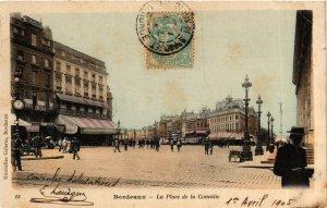 CPA Gironde BORDEAUX Place de la Comédie (982549)