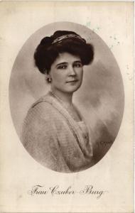 CPA Frau Czuber Burg THEATRE STAR (642754)