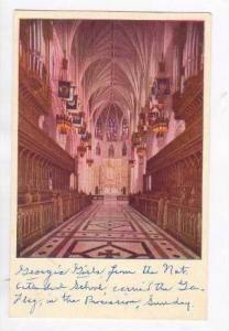 The Great Choir & Sanctuary, Washington Cathedral, Mount Saint Alban, Washing...
