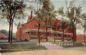 Home for Aged Couples - Utica, New York