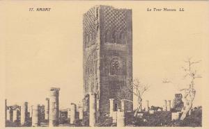 Exterior View, Hassan Tower, La Tour Hassan, Mosque, Rabat, Morocco, 00-10´s
