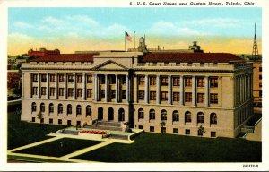 Ohio Toledo U S Court House and Custom House Curteich