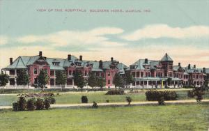 MARION, Indiana, PU-1909; View Of The Hospitals Soldiers Home