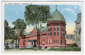 Lewiston, Me, St. Marie Hospital