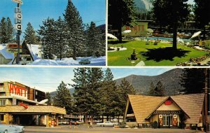 HYATT LODGE South Lake Tahoe, CA Highway 50 Roadside ca 1960s Vintage Postcard