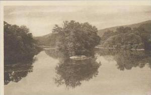 West Virginia Lewisburg Greenbrier River Nera Lewisburg Albertype
