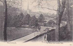 The Garden From Invalids' Walk, Bournemouth (Dorset), England, UK, 1900-1910s