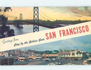 Pre-1980 SHOPS BY FISHERMANS WHARF San Francisco California CA ho7685
