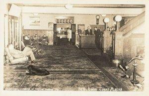 RP: CURRY , Alaska , 1940s ; Hotel Lobby